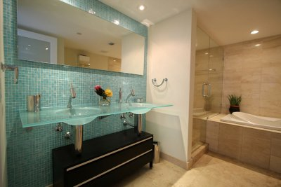 modern - bathroom